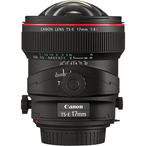 """LENTE TS-E 17MM F/4L TILT-SHIFT"""