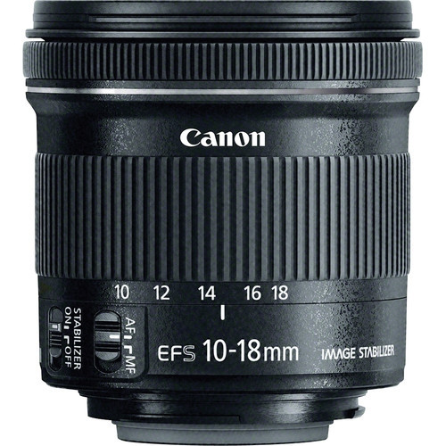 """EF-S 10-18mm f/4.5-5.6 IS STM"""