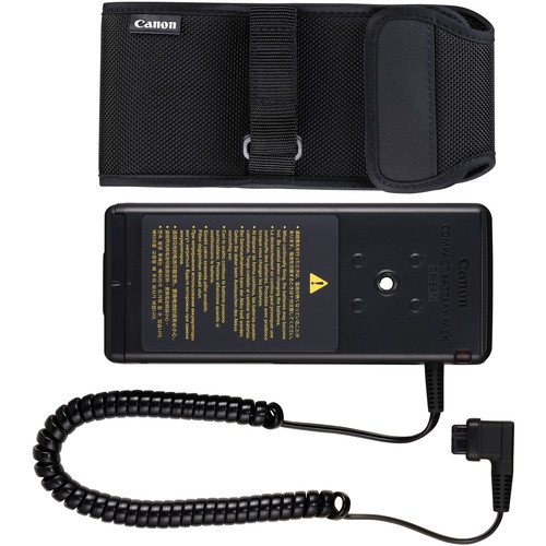 """CP-E4N COMPACT BATTERY PACK PARA SPEEDLITE 600EX II-RT, 580EX II, MT-24EX, MR-14EX, ETC."""