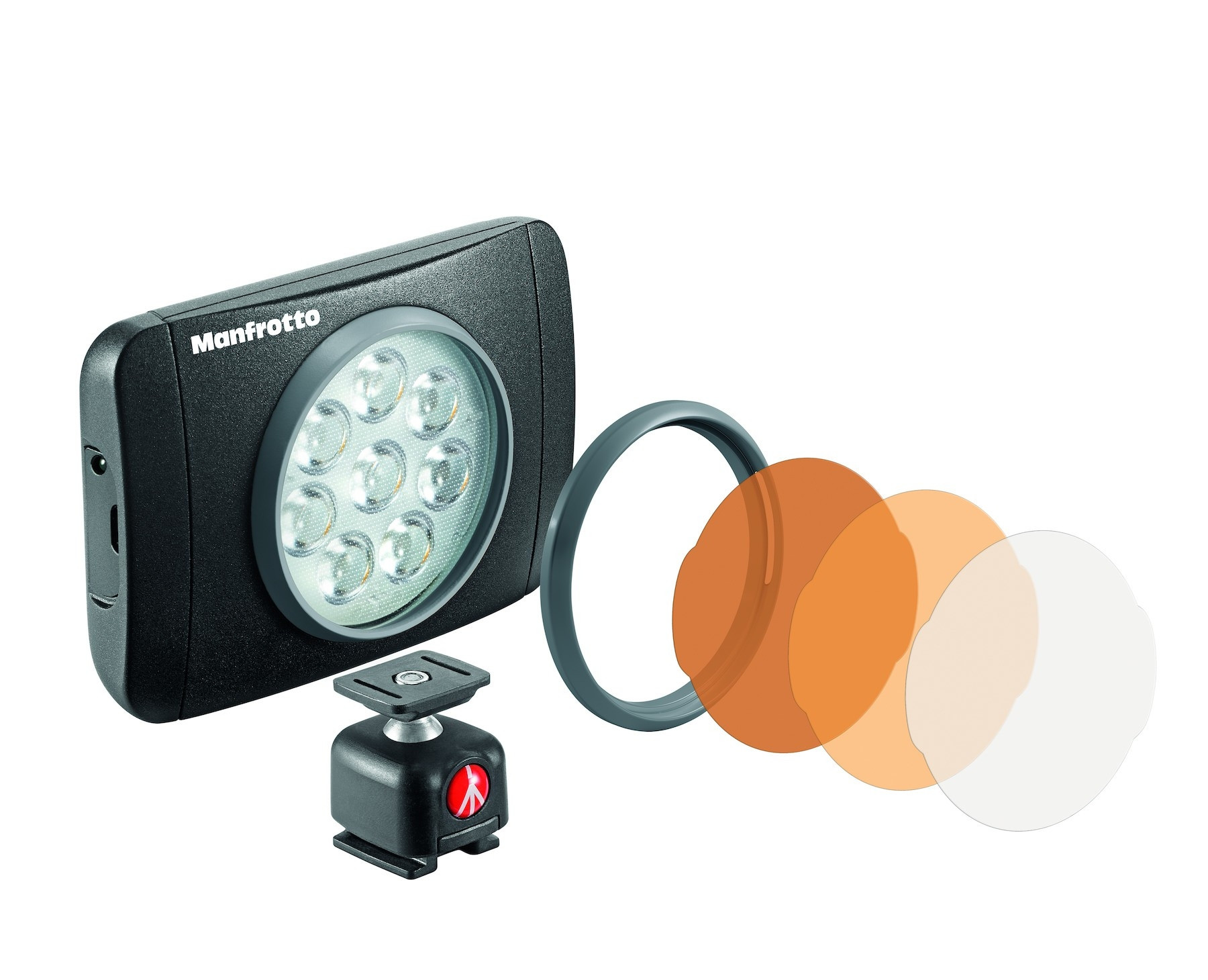 LAMPARA LED LUMIE MUSE DE 8 LEDS NEGRA (MLUMIEMU-BK)719821384540  3