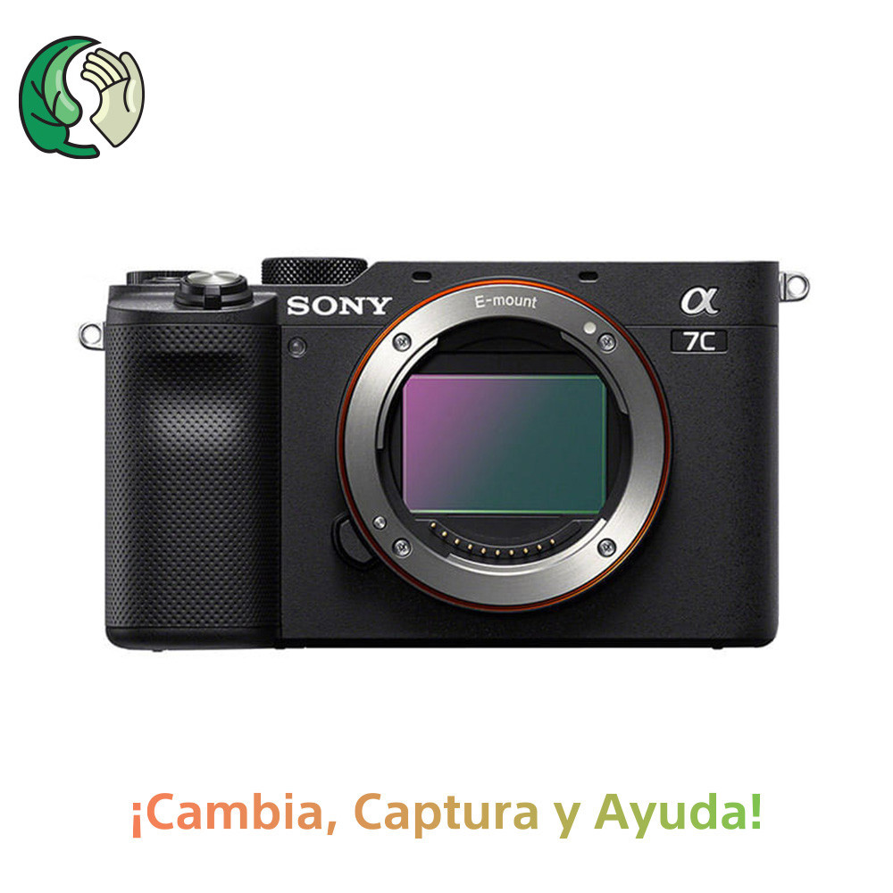 SONY ALPHA A7C (ILCE7C) CUERPO