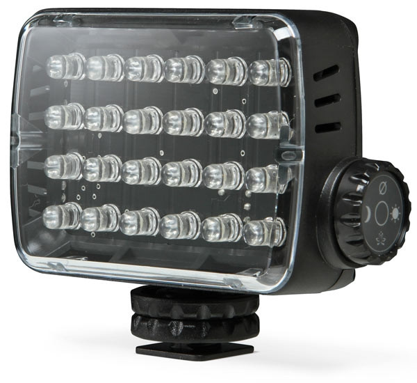 LAMPARA ML-240 DE 24 LEDS LUZ CONTINUA PARA FOTO Y VIDEO