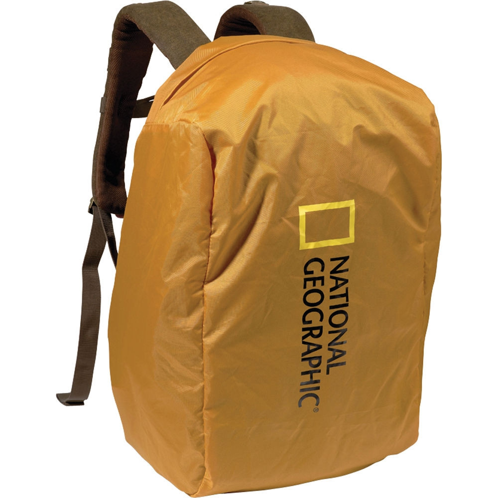 IMPERMEABLE CON CAPUCHA P/MOCHILA CHICA Y MEDIANA AFRICA (NG A7200)