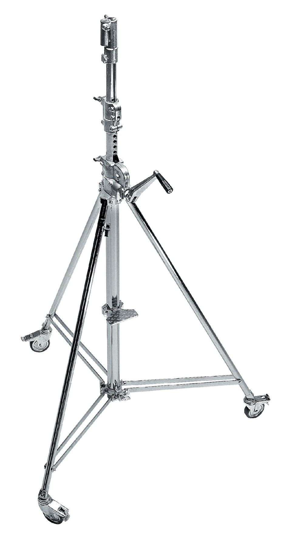 TRIPIE (B6039CS) AVENGER WIND-UP 39 STAND WITH BRAKED WHEELS  719821302261