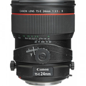"""LENTE TS-E 24MM F/3.5L  II TILT-SHIFT"""