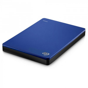 """DISCO DURO EXTERNO BACK UP PLUS 2TB AZUL USB 3.0 SLIM 2.5"""