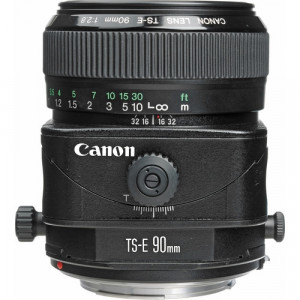 """LENTE TS-E 90MM F/2.8 TILT-SHIFT"""