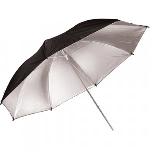 savage-SOMBRILLA PLATA/NEGRO - SILVER/BLACK PUR-36SB-umbrella