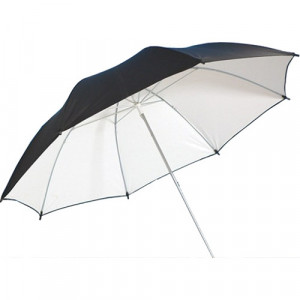 savage-SOMBRILLA BLANCO/NEGRO - WHITE/BLACK PUR-36WB DE 36 PULGADAS-umbrella