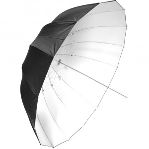 savage-SOMBRILLA DE 165CM DEEP BLANCA/NEGRA UMBRELLA