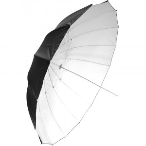 savage-SOMBRILLA DE 180CM BLANCA/NEGRA UMBRELLA