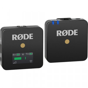 """Rode Wireless GO Black Kit de Sistema para Micrófono Inalámbrico Compacto (2.4 GHz)"""