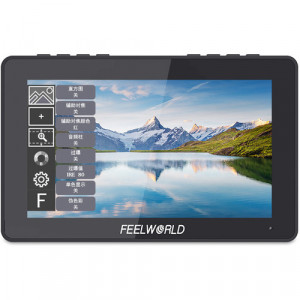 "0791348360320 MONITOR FEELWORLD TOUCHSREEN F5 PRO 5.5."""" 4K HDMI IPS"