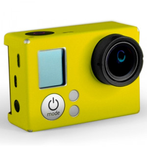 """(XSKIP-348048) STICKERS GO PRO HD HERO3 AMARILLO"""