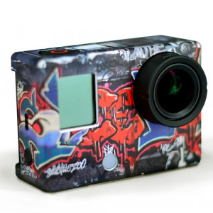"""(XSKIP-348123) STICKERS GO PRO HD HERO3 ARTE URBANO"""