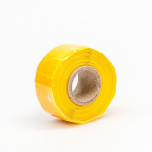 """CINTA AMARILLO DE SILICON DE .5 MM X 2.54 CM DE ANCHO X 3.66 M DE LARGO"""