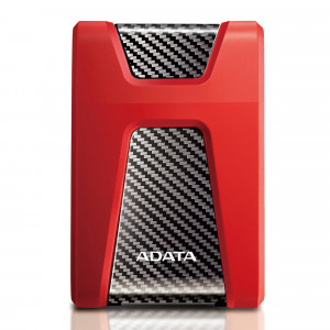 """DISCO DURO EXTERNO HD650 1TB ROJO USB 2.5 DURABLE"""