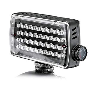 LAMPARA DE 36 LEDS, LUZ CONTINUA P/FOTOG. Y VIDEO (ML360)