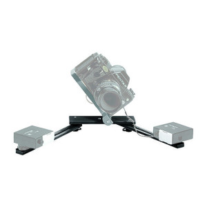 330B - BRAZO MACRO FLASH BRACKET (PARA MONTAR 2 FLASHES)  719821288602