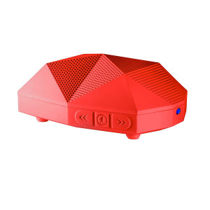 """BOCINA ODT TURTLE SHELL 2.0 RED"""