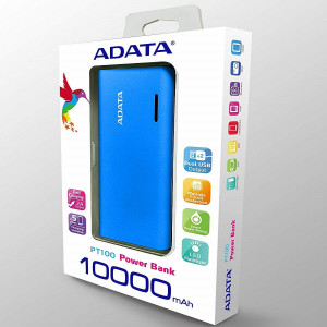 """POWER BANK PT100 (10000 MAH) Azul"""