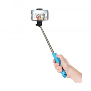 (SP-BTSW-BL) BASTON PARA SELFIE POR BLUETOOTH CON FUNCION DE ZOOM (AZUL)
