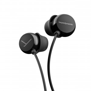 HEADPHONES IN-EAR BEAT BYRD BLACK/BLACK (717517)