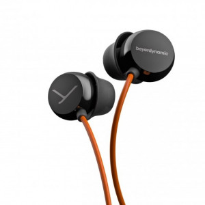 """HEADPHONES IN-EAR BEAT BYRD BLACK/ORANGE (733008)"""