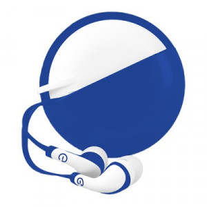615604995258 AUDIFONOS IN-EAR CON MICROFONO (AZUL/BLANCO)