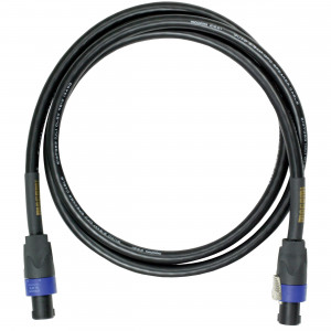 """Cable para amplificador-Bocina Con conector speakon Gold Speaker SO-06"""