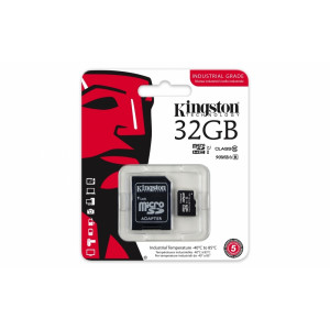 MICRO SD KINGSTON UHS-1 SPEED CLASS 3 (U3) 90R/80W SDCA3/32GB