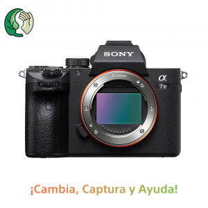 SONY ALPHA A7 III (ILCE7M3) CUERPO