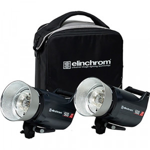 (20677.2) KIT DE FLASHES ELECTRONICOS CON ACC. ELC 500 PRO HD