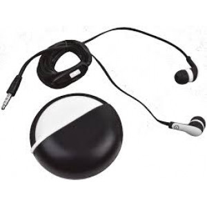 615604995234 AUDIFONOS IN-EAR CON MICROFONO (NEGRO/BLANCO)