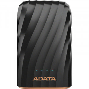 """ADATA MOBILE POWER BANK AP10050C-USBC-CBK USB-C  10050mAh NEGRO"""