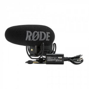 rode microfono videomic pro plus con suspension rycote 698813004980