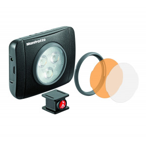 LAMPARA LED LUMIE MUSE DE 3 LEDS NEGRA (MLUMIEPL-BK)719821384588